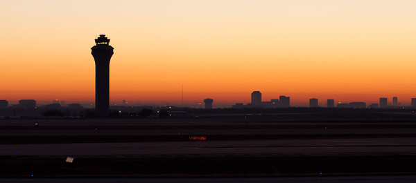 Sunrise at DFW