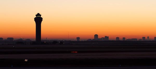Sunrise at DFW