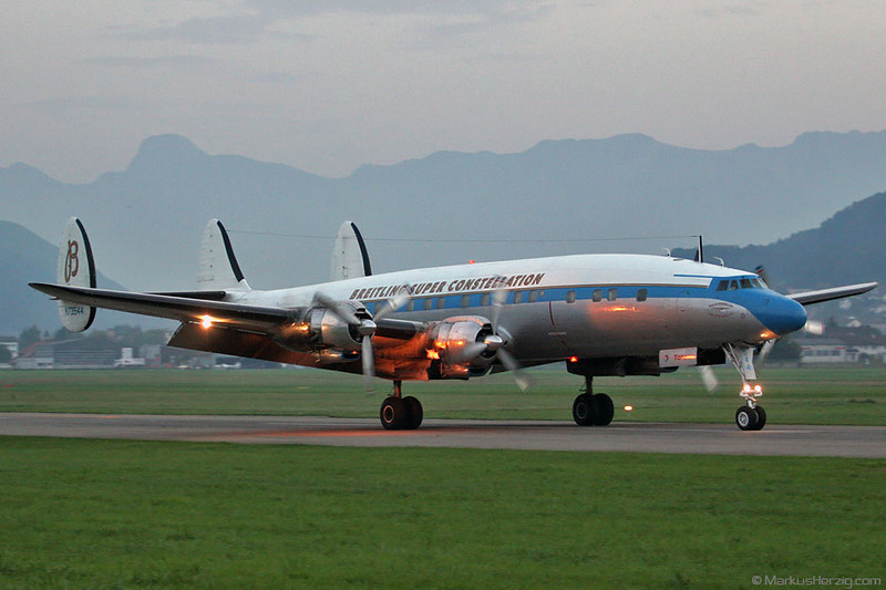 N73544 C121C Super Constellation SCFA @ Bern Switzerland 23Sep06