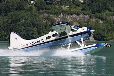 LN-NCC DHC-2 Mk1 Beaver @ Boenigen Switzerland 3Jul11