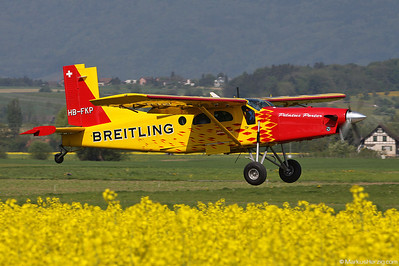 HB-FKP Pilatus PC-6/B2-H4 #877 Swissboogie @ Kappelen Switzerland 25Apr11