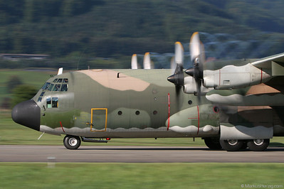 16805 C-130H Portuguese Air Force @ Bern Switzerland 5Sep07