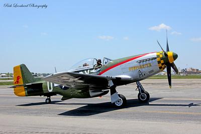 P-51 Mustang two seat model.