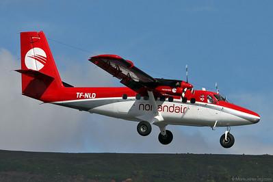 TF-NLD DHC-6-300 Norlandair @ Akureyri Iceland 22Jul10