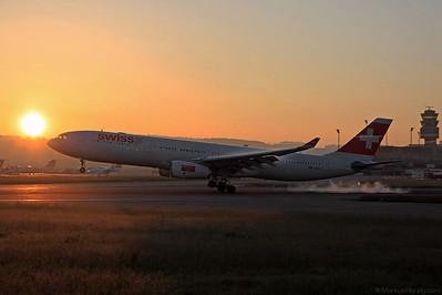 HB-JHA A330-343 Swiss International Air Lines @ Zurich Switzerland 17May12