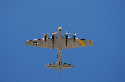 This plane flew over a UAB baseball game. I think its a B-17.