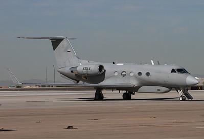 Lockheed Martin Gulfstream Aerospace G-1159A Gulfstream III  Goodyear - Phoenix / Goodyear (Litchfield Municipal / NAS) (GYR) USA - Arizona, November 20, 2015  N30LX (cn 438) Lockheed Martin's Airborne Multi-Intelligence Laboratory (AML) named 'Dragon Star'.