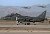 USA - Marines McDonnell Douglas TAV-8B Harrier II  Phoenix (Chandler) - Mesa (Williams) Gateway (AFB) (AZA / IWA / KIWA) USA - Arizona, November 26, 2014 Reg: 163860 Code: KD-16 Cn: T014 Harrier action!