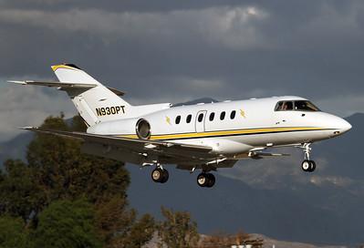 British Aerospace BAe-125-800B/XP  Van Nuys (VNY) USA - California, November 25, 2015 Reg: N930PT  Operated by Clay Lacy Aviation.