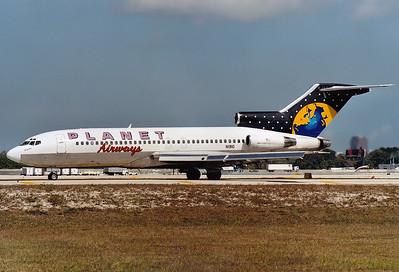 Planet Airways Boeing 727-23   Fort Lauderdale - Hollywood Intl. (FLL / KFLL) USA - Florida, January 2001 Reg: N1910  Cn: 19385/311