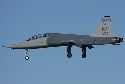 USA - Air Force Northrop T-38C Talon Universal City (San Antonio) - Randolph AFB (RND / KRND) USA - Texas, November 2, 2009 Reg: 62-3678 Code: RA