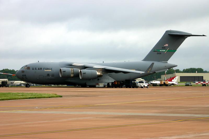 C-17A Globemaster  (USAF) - Airshow Fairford 2007