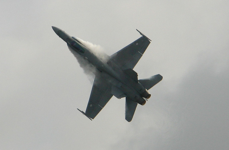 F-18C Hornet (Fin AF) - Airshow Fairford 2007