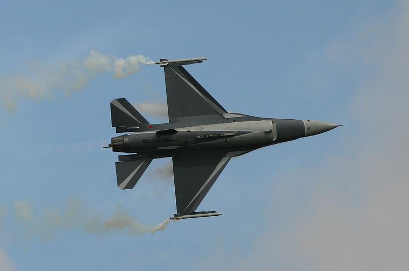 F-16AM (BAF) - Airshow Fairford 2007