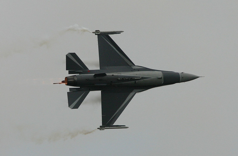F-16AM (BAF) - Airshow Fairford 2007