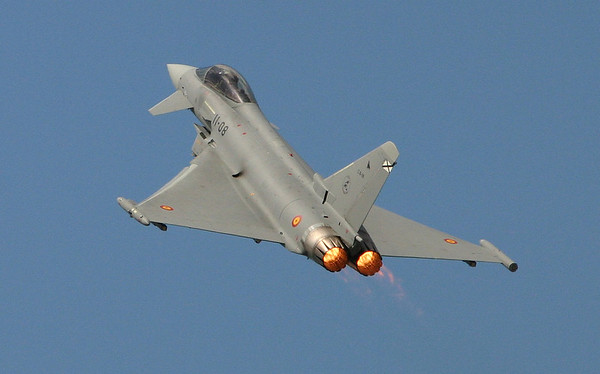 Typhoon  (SpAF) - Airshow Fairford 2007