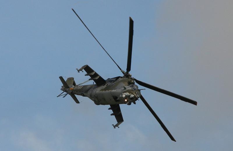 Mil-24V (CzAF) - Airshow Fairford 2007