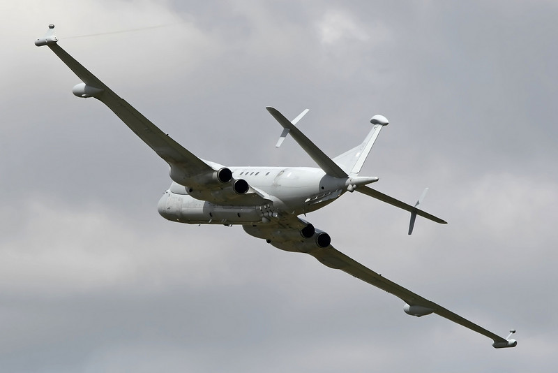 Airshow Fairford 2009 - BAE Systems Nimrod MRA4