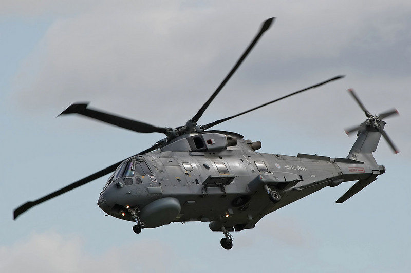 Airshow Fairford 2009 - Merlin HM1 (Royal Naval Air Squadron)