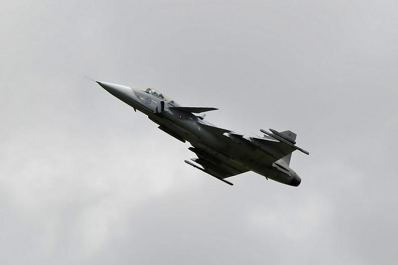 Airshow Fairford 2009 - Saab JAS39C Gripen - Swedish Air Force
