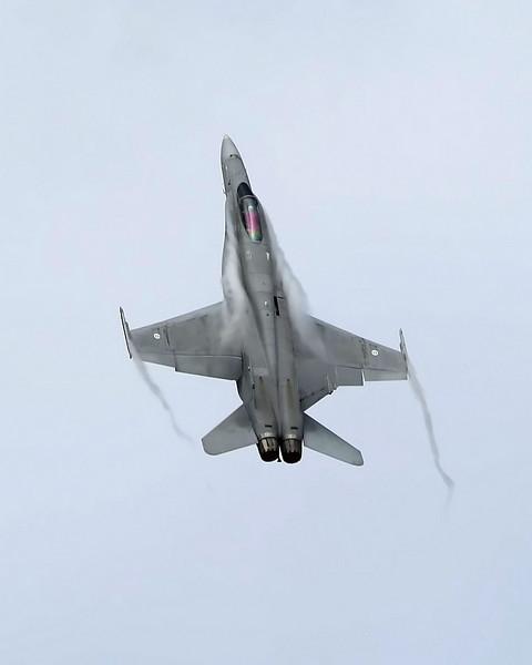 Airshow Fairford 2009 - F-18C Hornet (Finnish Air Force)
