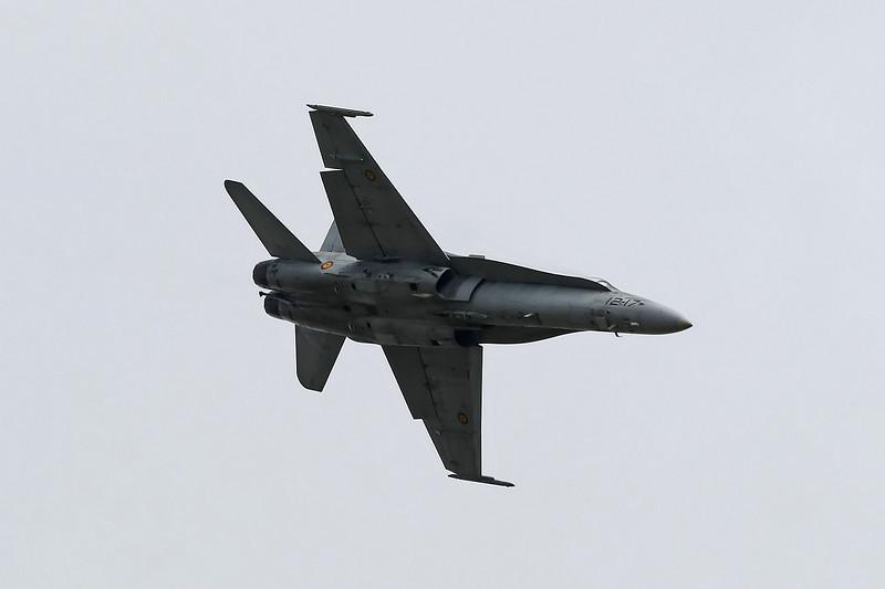 Airshow Fairford 2009 - EF-18A Hornet (Spanish Air Force)