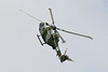Airshow Fairford 2009 - The Blue Eagles - Westland Lynx AH7