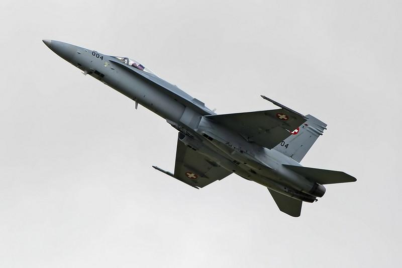 Airshow Fairford 2009 - F/A-18C Hornet - Swiss Air Force