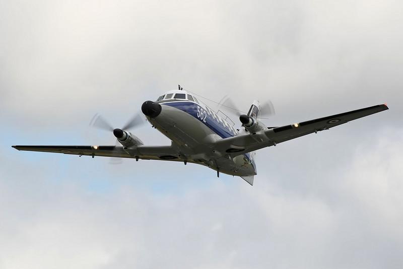 Airshow Fairford 2009 - Fly Navy 100 - Jetstream T2