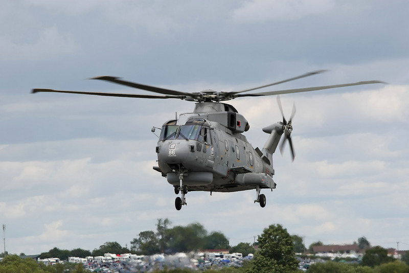 Airshow Fairford 2009 - Fly Navy 100 - Merlin HM1
