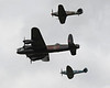 Airshow Fairford 2009 - Battle of Britain Memorial Flight<br /> Avro Lancaster I - Hawker Hurricane IIC - Supermarine Spitfire