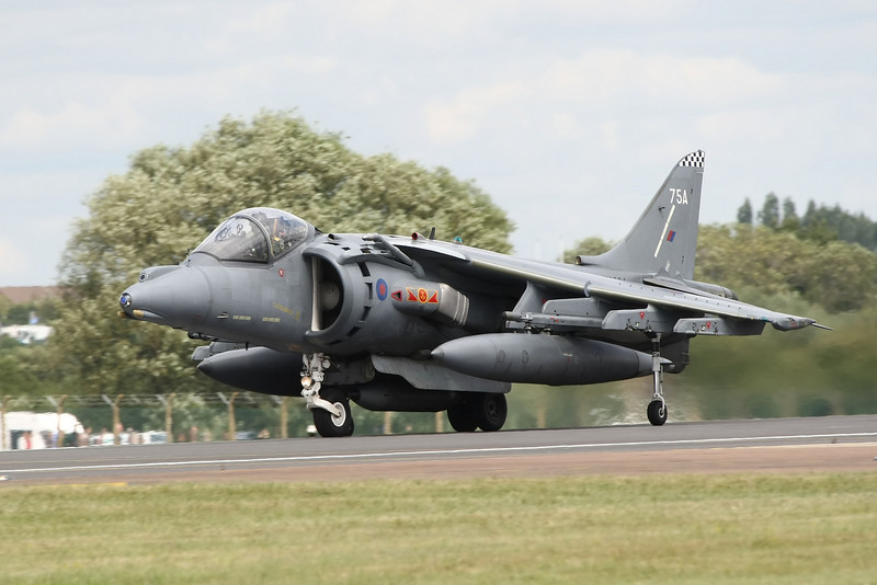 Airshow Fairford 2009 - Fly Navy 100 - BAe Harrier GR7/GR9