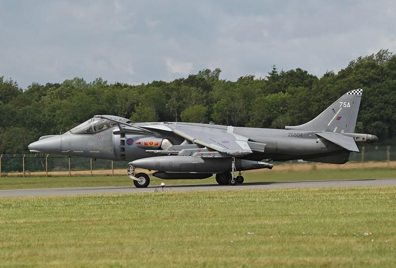 Airshow Fairford 2009 - Fly Navy 100 - BAe Harrier GR7/GR9