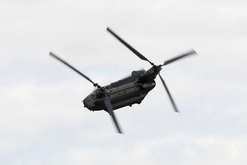 Airshow Fairford 2009 - Chinook HC2 (RAF)