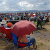 Crowds filled areas between the taxiways to watch Saturday's Colorado Sport International Airshow at Rocky Mountain Metropolitan Airport.<br /> August 28, 2010<br /> staff photo/David R. Jennings