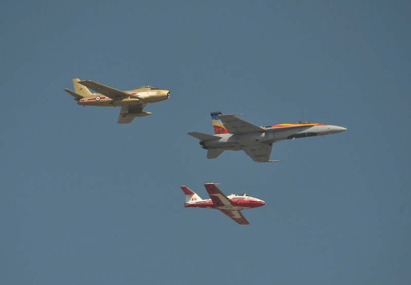 Canadian Air Force Heritage Flight