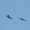 CF-18 & Skyraider