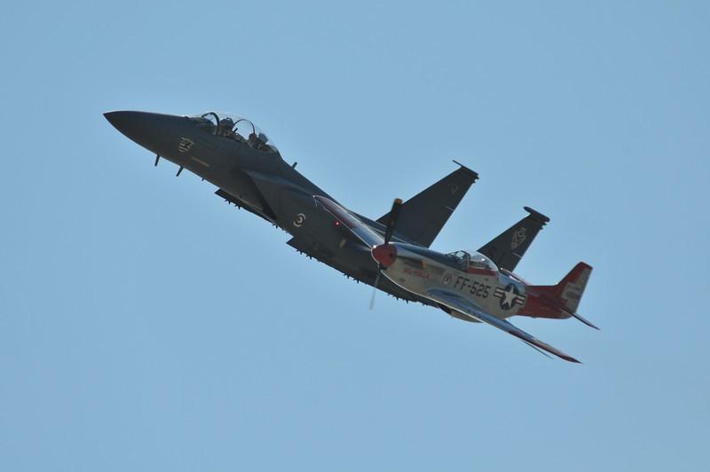 F-15 & P-51