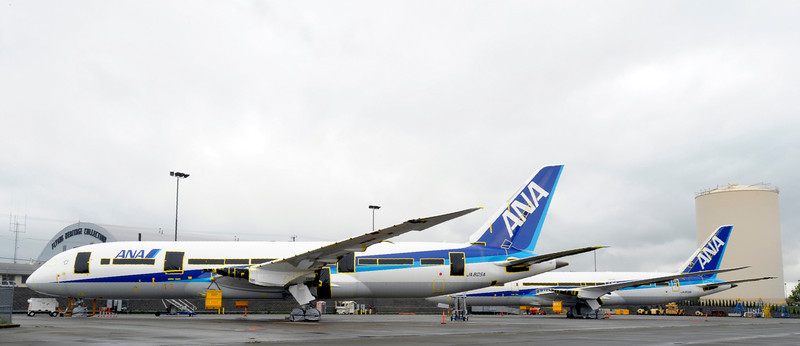 New 787 aircraft being built