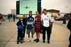 Jonathan, Gemma, Andy Mould, Waz, Mark Bullock all at RIAT airshow July 2000