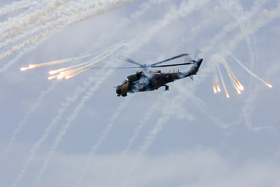 Hungarian Hind with some spectacular Flares