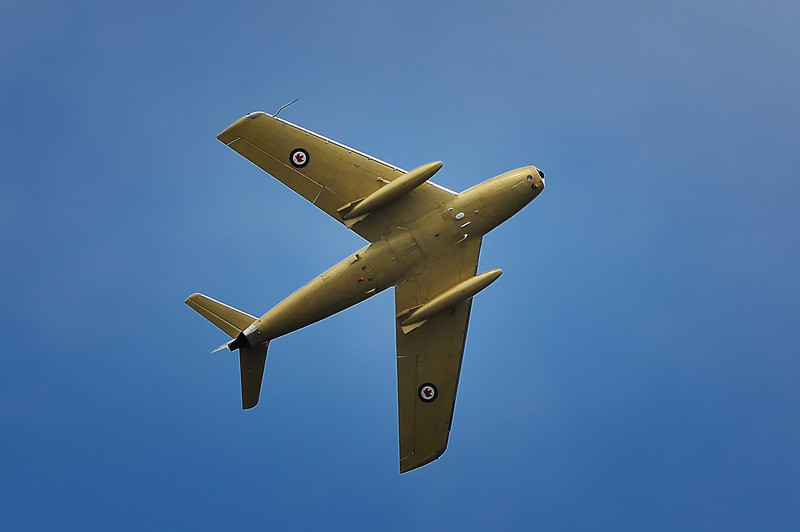 """""""Hawk One"""", Canadair """"Sabre"""", 2010 Nova Scotia Airshow."""