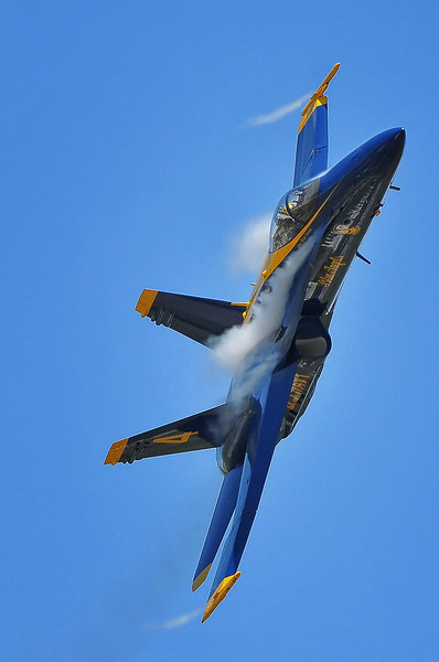 Blue Angel #4 piling on the G's after the break