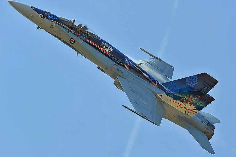 Canadian Forces CF-18 Demo Team