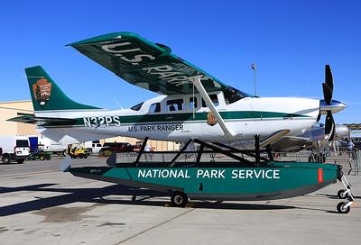 National Park Service Cessna 206H Stationair  N32PS MSN: T20608357  Las Vegas - Nellis AFB (LSV / KLSV) Nevada, USA - November 11, 2017