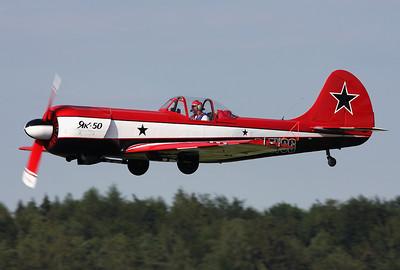 Yakovlev Yak-50 Coburg - Brandensteinsebene (EDQC) Germany, July 5, 2009 Reg: D-EYCG Cn: 781210