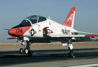 T-45 touchdown