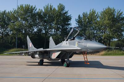 MiG-29 Fulcrum.