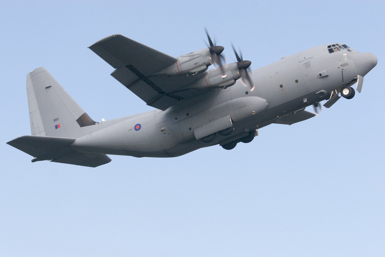 C-130 Hercules. Royal Air Force. 889.