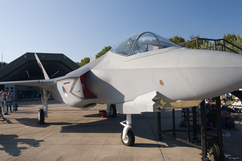 F-35 Joint Strike Fighter (full scale mock-up).